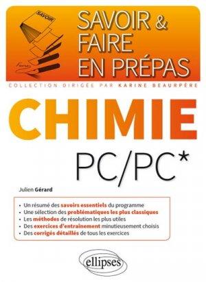 Chimie PC/PC* - ellipses - 9782340015395 -