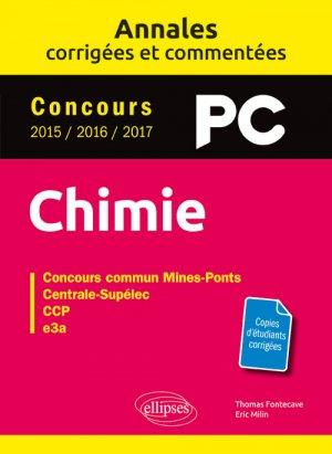 Chimie PC - ellipses - 9782340019973 -