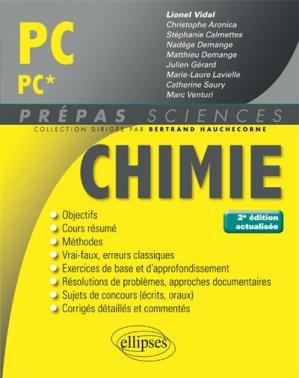Chimie PC PC* - ellipses - 9782340020146 -