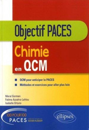 Chimie en QCM - ellipses - 9782340021068