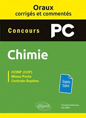 Chimie PC - ellipses - 9782340028791 -