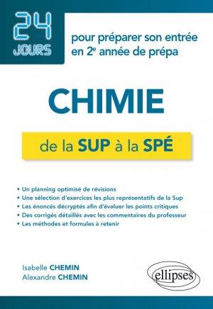 Chimie de la Sup à la Spé - ellipses - 9782340030909 -
