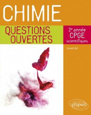 Chimie 2e année de CPGE scientifiques - Ellipses - 9782340039803 -