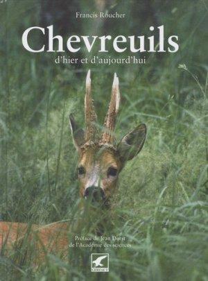 Chevreuils d'hier et d'aujourd'hui - gerfaut - 9782351910344 - majbook ème édition, majbook 1ère édition, livre ecn major, livre ecn, fiche ecn
