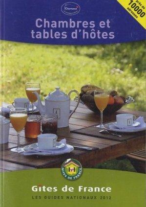 Chambres et tables d'hôtes - Gîtes de France - 9782353200627 -