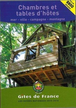 Chambres et tables d'hôtes - Gîtes de France - 9782353200764 -