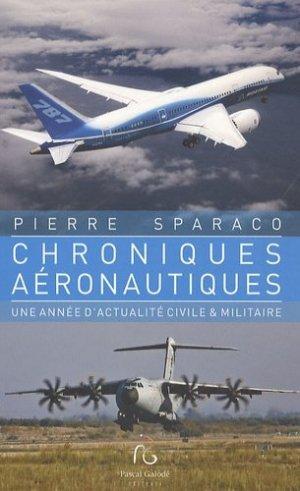 Chroniques aéronautiques - pascal galode - 9782355930836 -