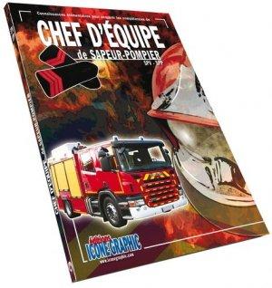 Chef d'équipe du sapeur-pompier SPV-SPP - Icone graphic - 9782357383500 -
