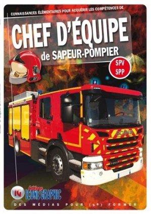 chef d'equipe de sapeur-pompier SPV - SPP - icone graphic - 9782357384200 -