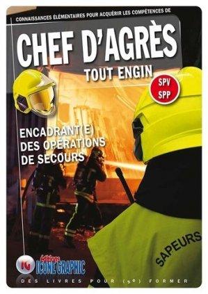 Chef d'Agrès Tout Engin SPV SPP - icone graphic - 9782357385993 -