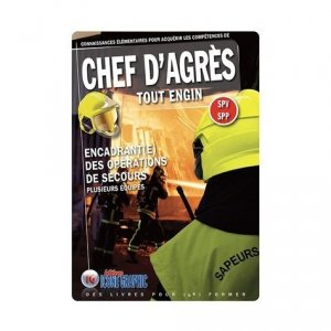 Chef d'Agrès Tout Engin SPV SPP - Icone graphic - 9782357386334 -