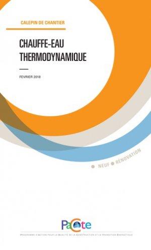Chauffe-eau thermodynamique - sebtp - 9782359172287 -