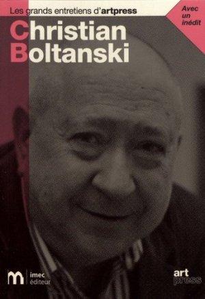 Christian Boltanski - IMEC - 9782359430172 -