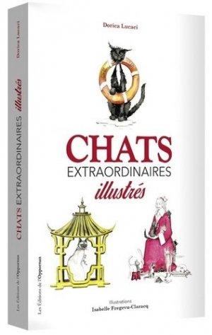 Chats extraordinaires illustrés - de l'opportun - 9782360754892 -