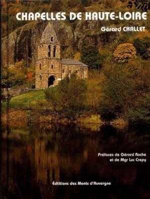 Chapelles de Haute-Loire - des monts d'auvergne - 9782366540772 -
