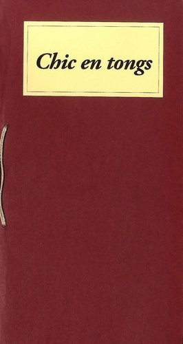 Chic en tongs - Editions Néphélées - 9782366760064 -