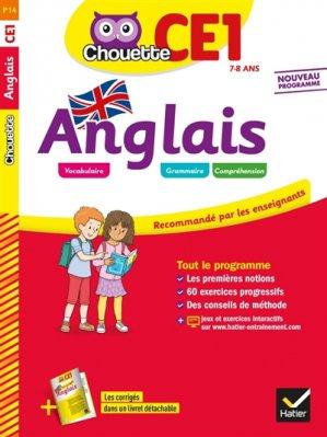 Anglais CE1 - Hatier - 9782401050495 -