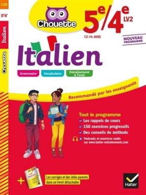Italien 5e/4e LV2 - hatier - 9782401051119 -