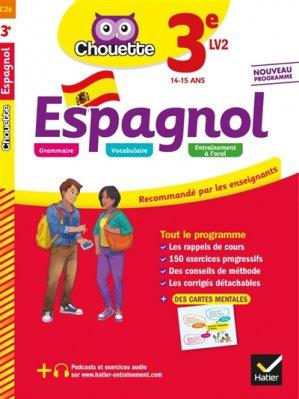 Espagnol 3e LV2 - hatier - 9782401051201