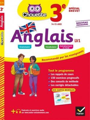 Anglais 3e LV1 - Hatier - 9782401051249 -