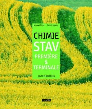 Chimie STAV 1e et Tle - Vuibert - 9782711740826 -
