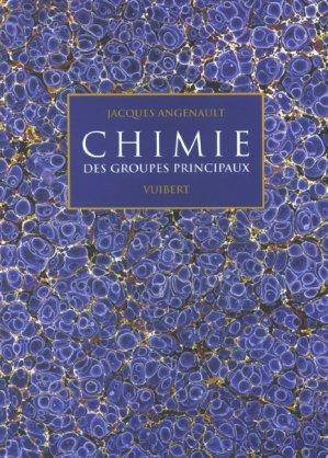 Chimie des groupes principaux  - vuibert - 9782711771745 -