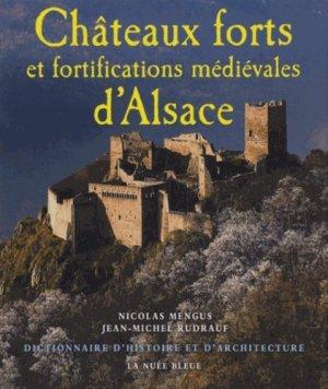 Châteaux forts et fortifications médiévales d'Alsace. Dictionnaire d'histoire et d'architecture - La Nuée bleue - 9782716508285 -