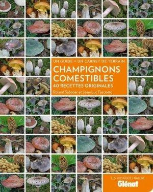 Champignons comestibles - glenat - 9782723496582