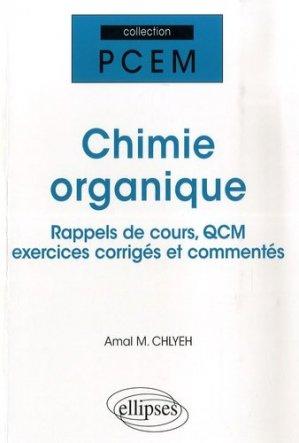 Chimie organique - ellipses - 9782729834821 -