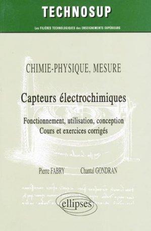 Capteurs électrochimiques - ellipses - 9782729839970 -
