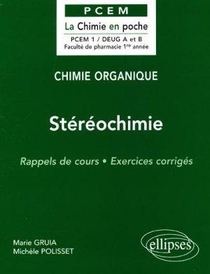 Stéréochimie - ellipses - 9782729869700 -