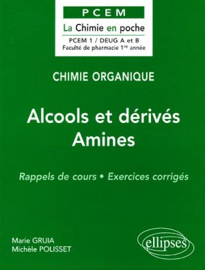Alcools et dérivés Amines - ellipses - 9782729869724