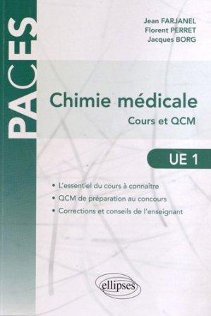 Chimie médicale - ellipses - 9782729876050 -