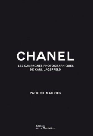 Chanel - les campagnes photographiques de Karl Lagerfeld - de la martiniere - 9782732484839 -