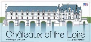Châteaux of the Loire Pop-up - ouest-france - 9782737378812 -