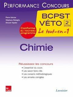 Chimie 2ème année BCPST - Véto - lavoisier / tec et doc - 9782743015893 -