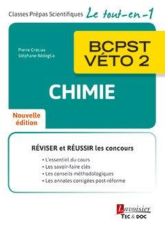 Chimie BCPST-VÉTO 2 - lavoisier / tec et doc - 9782743022938 -