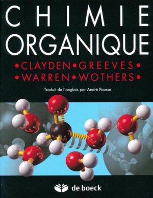 Chimie organique - de boeck superieur - 9782744501494 -