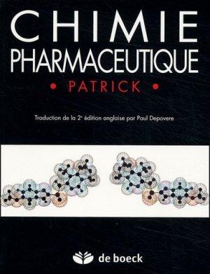 Chimie pharmaceutique - de boeck superieur - 9782744501548 -
