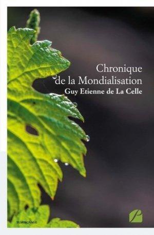 Chronique de la mondialisation - Les éditions du Panthéon - 9782754744188 -