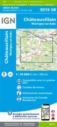 Châteauvillain - Montigny-sur-Aube - ign - 9782758537403 -