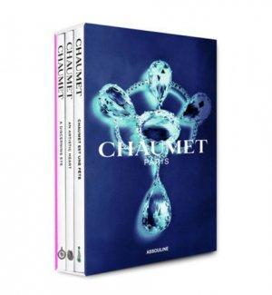 Chaumet. Coffret 3 volumes : Chaumet est une fête ; dans l'oeil de Chaumet ; Le goût de l'art - assouline - 9782759407774 -