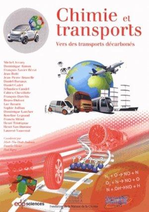 Chimie et transports - edp sciences - 9782759810758