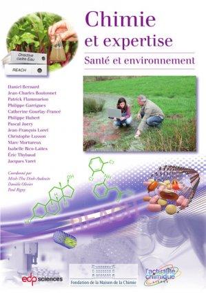 Chimie et expertise - edp sciences - 9782759818488 -