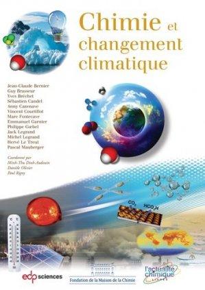 Chimie et changement climatique - edp sciences - 9782759820351 -