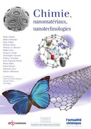 Chimie, nanomatériaux, nanotechnologies - edp sciences - 9782759823765 -