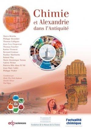Chimie et Alexandrie dans l'Antiquité - EDP Sciences - 9782759824090 -