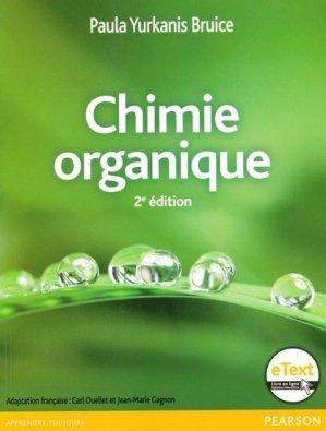 Chimie organique - pearson - 9782761349949 -