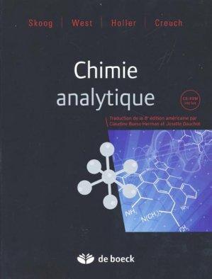 Chimie analytique-de boeck superieur-9782804162955