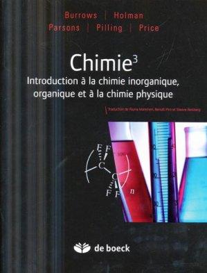 Chimie 3 - de boeck superieur - 9782804164867 -